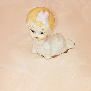 Vintage baby figurine